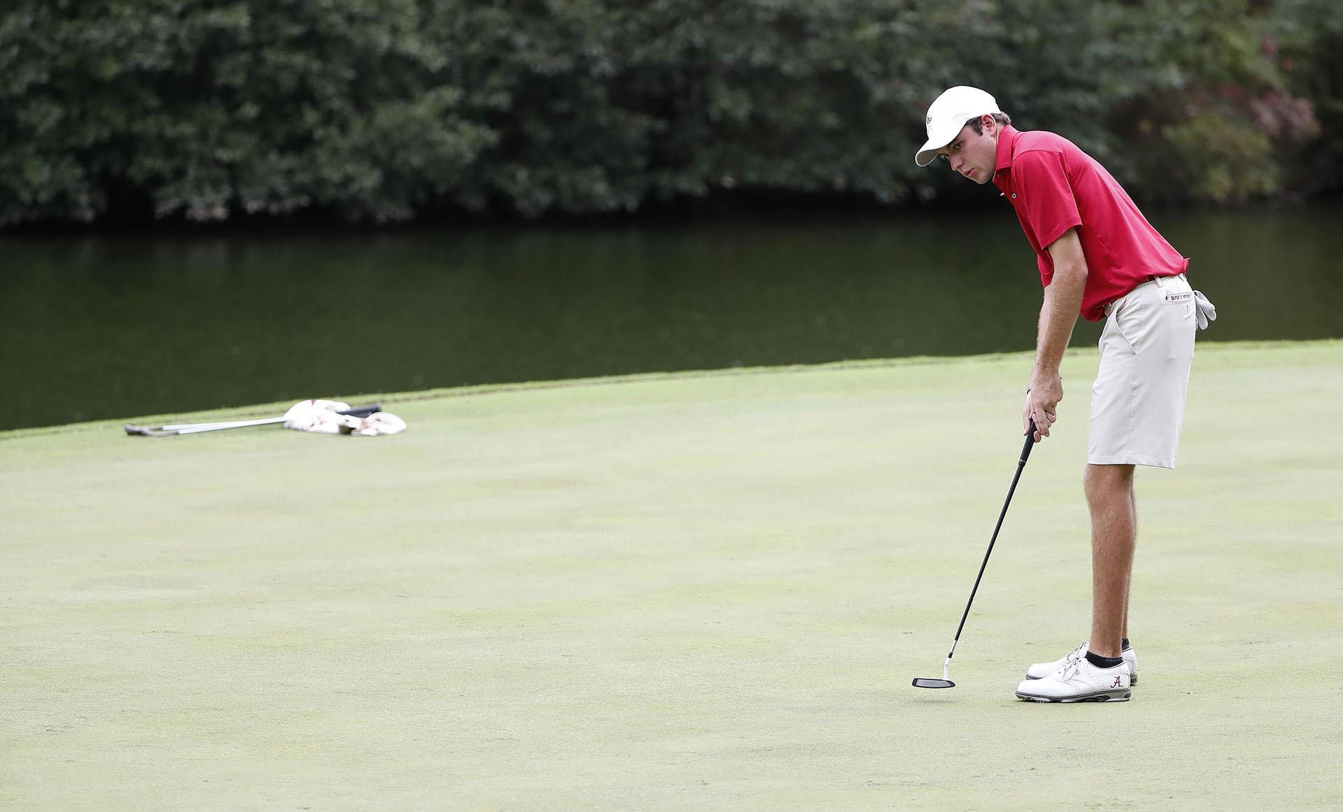 Davis Shore Mens Golf Alabama FanWord 5